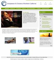 end of life choices axxiem website design non-profits bioltech