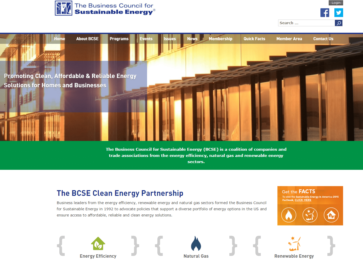The Business Council for Sustainable Energy