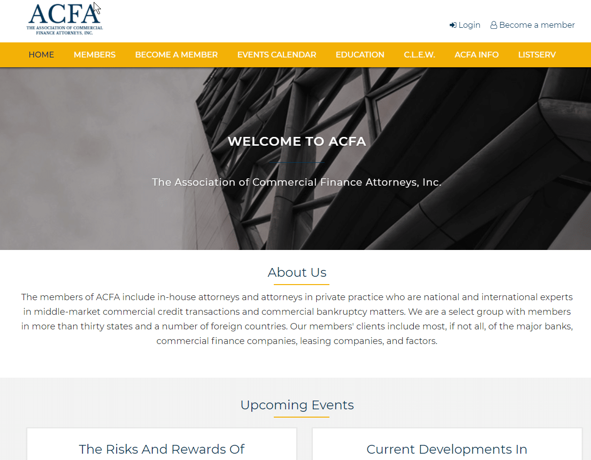 ACFA Axxiem website