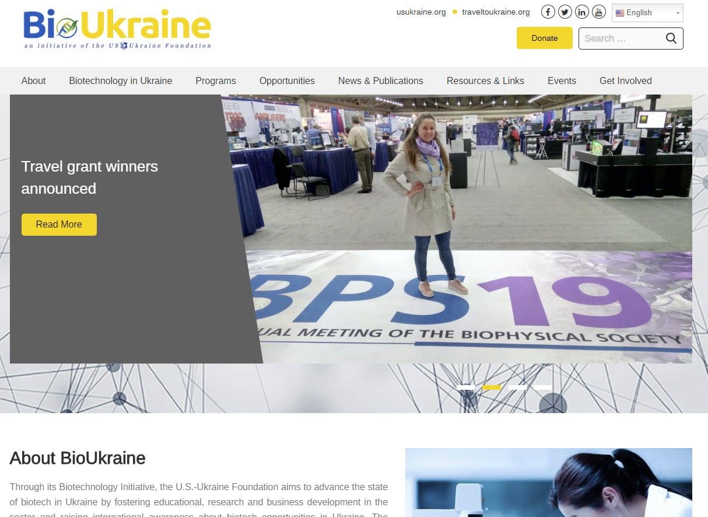 Bioukraine.org home