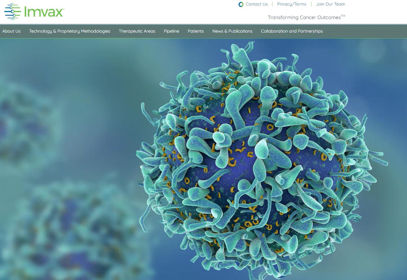 Imvax biotech website Malignant glioma hepatocellular carcinoma pancreatic cancer