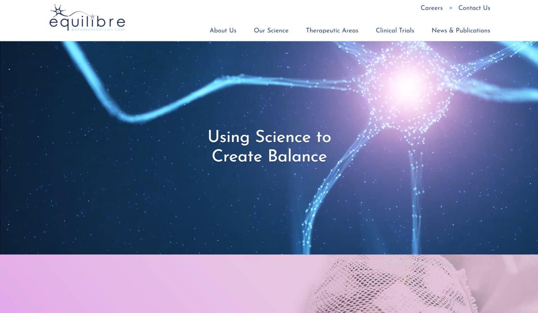 Equilibre Biopharmaceuticals desktop image